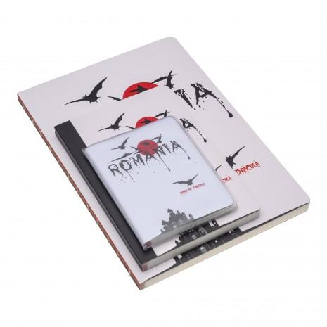 Agenda de buzunar nedatata, Dracula, foi dictando, 7 x 10,3 cm, 120 pg, coperta transparenta, MB247 L3