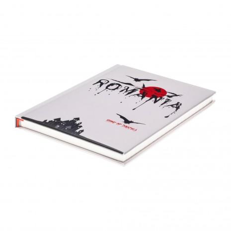 Agenda nedatata Dracula - Romania, foi dictando, 14 x 18,7 cm, 144 pg, MB247 L5