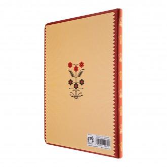 Agenda nedatata Motive florale, foi dictando, 13,8 x 19,6 cm, 144 pg, MB249 L4