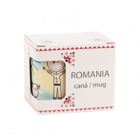 Cana cadou, costum popular, 325 ml, MB289