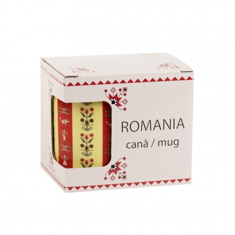Cana cadou, motive florale, 325 ml, MB291