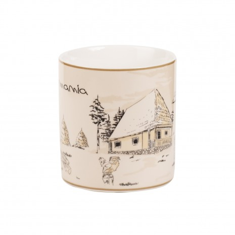 Cana cadou, satul romanesc, 325 ml, MB293