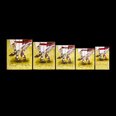 Punga cadou, Dans Popular, 30 x 35 x 10 cm, MB153 D5