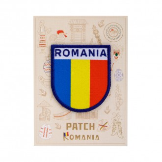 Ecuson textil, Fanion Romania, MB238