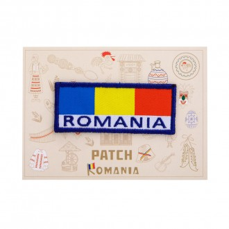 Ecuson textil, Tricolor Romania, MB240