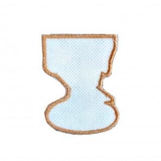 Ecuson textil, Dans popular, MB143