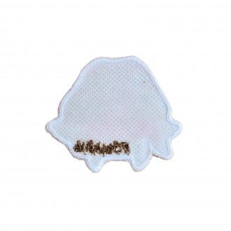 Ecuson textil, Colaj traditinal, MB141