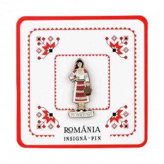 Insigna suvenir - Costum popular MB111