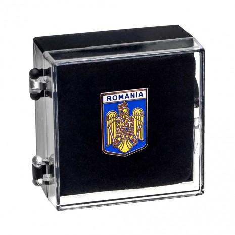 Insigna suvenir - Stema Romaniei MB389