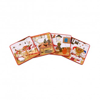 Suporturi de pahare, cadouri traditionale romanesti, Mestesuguri, MB025
