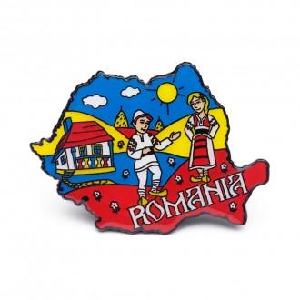Magnet de frigider - suvenir Romania, MB047