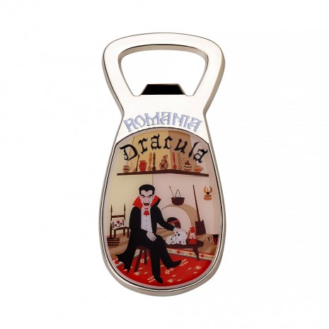Magnet de frigider desfacator - suvenir Dracula MB089
