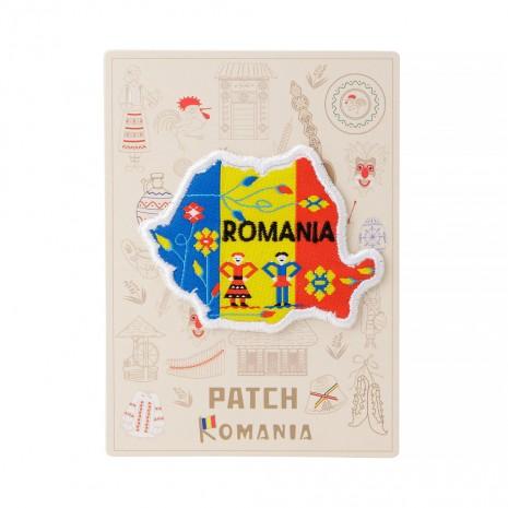 Ecuson textil, Romania, MB137