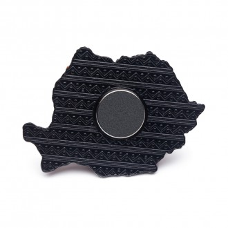 Magnet de frigider, harta Romaniei, MB047