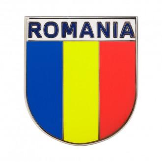 Magnet de frigider, fanion tricolor Romania, MB241