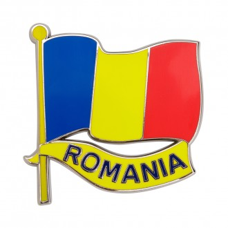 Magnet de frigider, steag Romania, MB242
