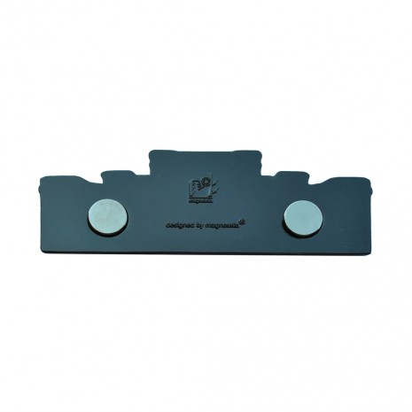 Magnet de frigider negru - suvenir Bucuresti MB283
