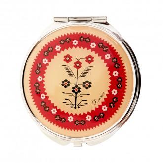 Oglinda cosmetica, motive florale, MB091