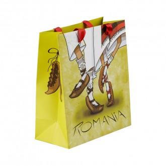 Punga cadou, Dans Popular, 21 x 24 x 10 cm, MB153 D2