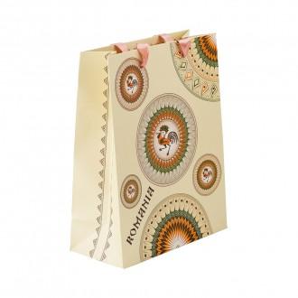 Punga din hartie - Cadou traditional Horezu, 26 x 32 x 10 cm, MB163 D4