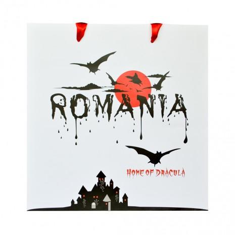 Punga din hartie, 23,5 x 24 x 10 cm - Cadou Dracula MB233 D2