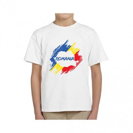 Tricou Copii - cadou Romania, 100% bumbac, MB299