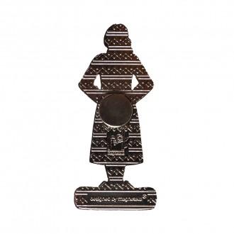Magnet de frigider, fata in costum popular, MB075