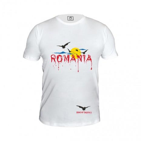 Tricou Romania, suvenir, 100% bumbac, MB180