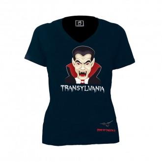 Tricou - cadou Transylvania, Dracula, 100% bumbac, MB304