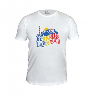 Tricou - cadou Romania, Peisaj Pitoresc, 100% bumbac, MB329